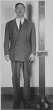 Author photo. Police mugshot of Julius Rosenberg (Dept. of Justice, Office of the U.S. Attorney for the Southern Judicial District of New York)