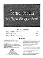 Parma Fabula: Ars Magica Storyguide Screen…