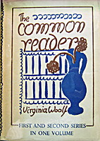 The Common Reader, first and second series…