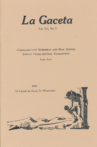 La Gaceta Vol. VII, No. 2: Comparisons of…