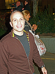 Author photo. Credit: David Shankbone, Nov. 13, 2008, demonstration in New York City