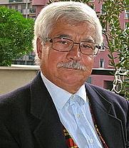 Author photo. Tito Saffioti a Montevecchia nel 2009