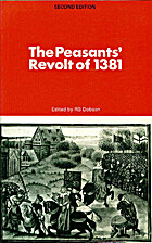 The Peasants' Revolt of 1381 by R. B. Dobson
