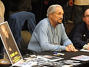 Author photo. Hal Linden at Chiller Theatre on April 30, 2011 [source: Chamber of Fear]