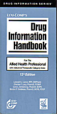 Lexi-Comp's Drug Information Handbook For…
