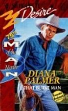 That Burke Man by Diana Palmer