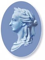 Author photo. 1775 Wedgewood cameo of Anna Letitia Barbauld