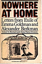 Nowhere at Home : Letters from Exile of Emma…