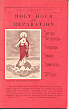 Holy Hour of Reparation by Soul Assurance