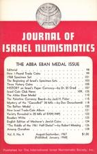 Journal of Israel Numismatics (02:05-06)