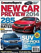 New Car Preview 2014 by Consumer Reports