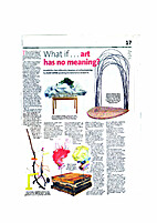 WHAT IF...ART HAS NO MEANING? by OOI KOK…