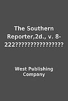 The Southern Reporter,2d., v.…