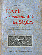 L'art de reconnaître des styles by Émile…