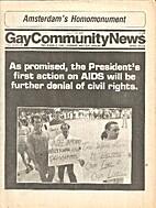 Gay Community News (Volume 14, Number 45)…