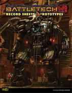Battletech: Record Sheets Prototypes by…