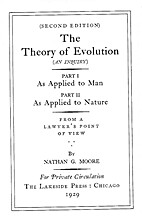 The Theory of Evolution (an Inquiry...From a…
