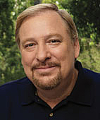 Author photo. Rick Warren
