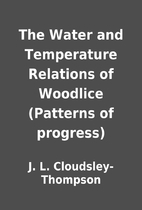 The Water and Temperature Relations of…