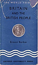 Britain and the British People by Ernest…