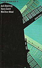 Penguin Modern Poets 16: Jack Beeching,…