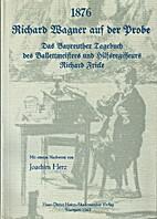 1876, Richard Wagner auf der Probe: Das…