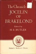 Chronicle of Jocelin of Brakelond Concerning…