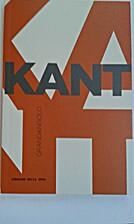 Kant by Tommaso Tuppini