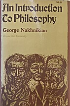 An introduction to philosophy by George…