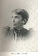Author photo. Clara Doty Bates (b.185-) Buffalo Electrotype and Engraving Co., Buffalo, N.Y.