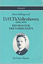 D. H. Th. Vollenhoven (1892-1978) :…