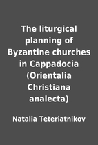 The liturgical planning of Byzantine…
