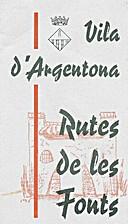 Vila d'Argentona: rutes de les fonts…