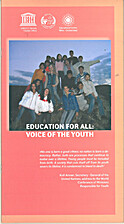 Education for all: voice of the youth by…