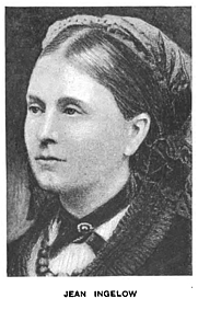 Author photo. Jean Ingelow [source: The Hawthorne readers, Book 4 By Edward Everett Hale 1904]