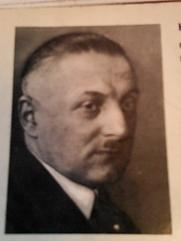 Author photo. Albert Heinrich Rausch, Pseudonym: Henry Benrath
