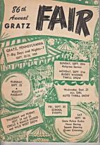 86th Annual Gratz Fair, 1959. by Gratz Fair…