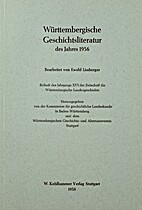 Württembergische Geschichtsliteratur des…
