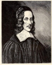 Author photo. Portrait of George Herbert (poet) by Robert White in 1674. From National Portrait Gallery (UK) By Robert White - one or more third parties have made copyright claims against Wikimedia Commons in relation to the work from which this is sourced or a purely mechanical reproduction thereof. This may be due to recognition of the &quot;sweat of the brow&quot; doctrine, allowing works to be eligible for protection through skill and labour, and not purely by originality as is the case in the United States (where this website is hosted). These claims may or may not be valid in all jurisdictions.As such, use of this image in the jurisdiction of the claimant or other countries may be regarded as copyright infringement. Please see Commons:When to use the PD-Art tag for more information., Public Domain, <a href=&quot;//commons.wikimedia.org/w/index.php?curid=3875395&quot; rel=&quot;nofollow&quot; target=&quot;_top&quot;>https://commons.wikimedia.org/w/index.php?curid=3875395</a>