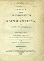 Travels through the United States of North…