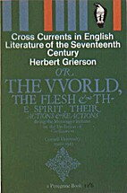 Cross Currents in English Literature of the…