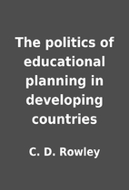 The politics of educational planning in…