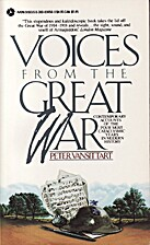 Voices from the Great War by Peter…