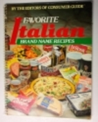 Favorite Brand Name Recipes: Italian by…