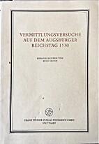 Vermittlungsversuche auf dem Augsburger…