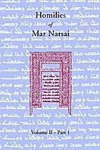Homilies of Mar Narsai - Volume II - Part 1…