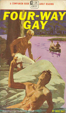 Four-way gay (Companion book) by Dick Dale
