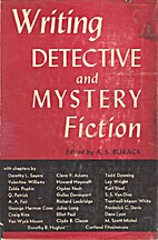 Writing Detective and Mystery Fiction by A.…