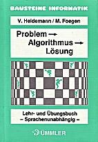 Problem, Algorithmus, Lösung: Lehr- und…