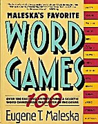 Maleska's Favorite Word Games by Eugene T.…